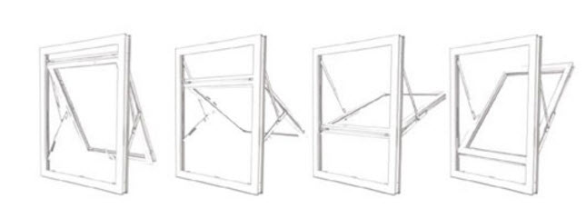 Fully Reversible Windows Right Choice Homes UK