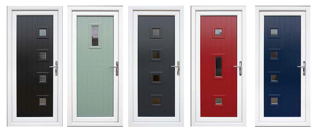 Right Choice Homes UK Coloured UPVC Door